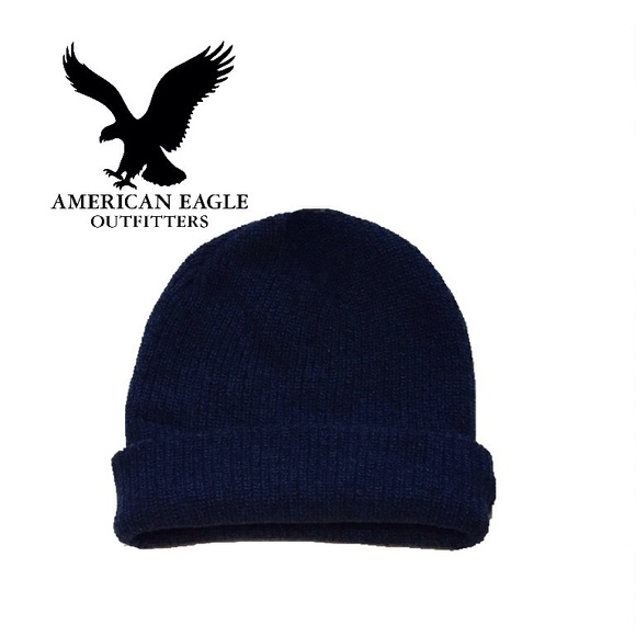 4c843280486 🆕🔥AMERICAN EAGLE🔥🆕NEW WITH TAGS BLUE BEANIE